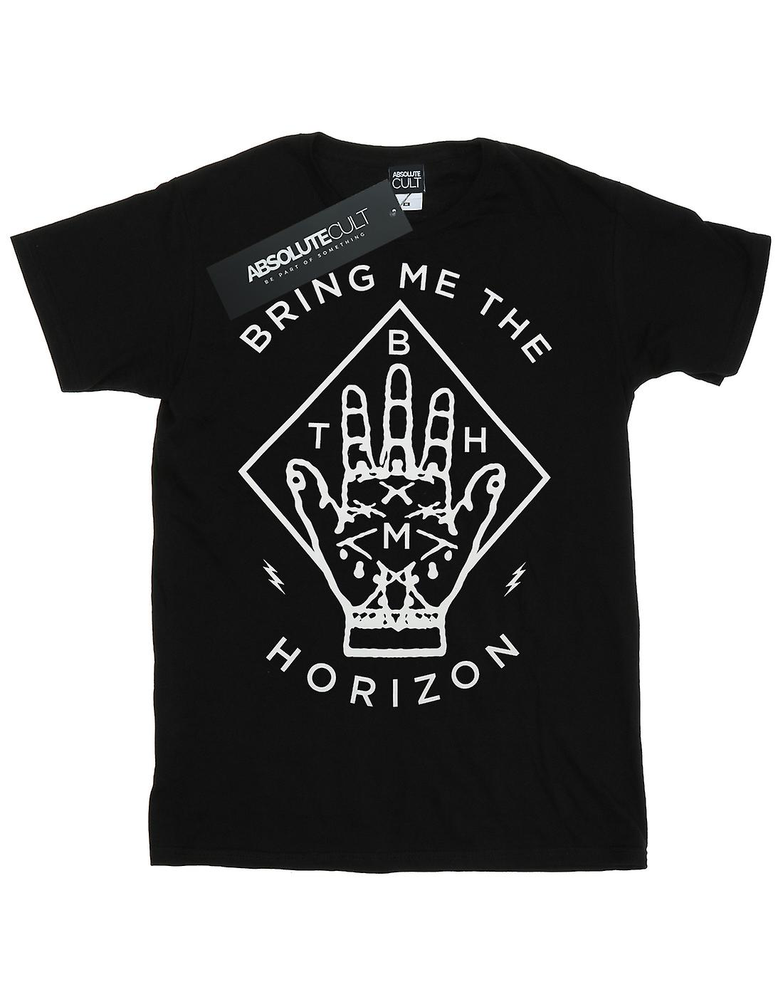 Bring Me The Horizon Women's Diamond Hand Boyfriend Fit T-Shirt
