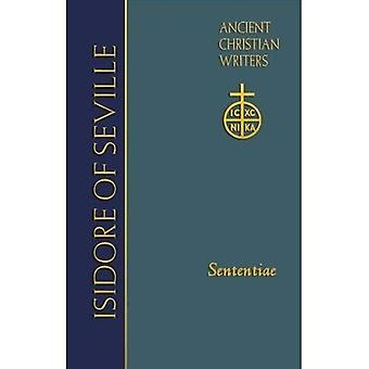 Isidore of Seville: Sententiae (Ancient Christian Writers (TM))