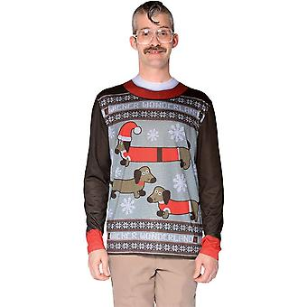 Ugly Christmas Wonderland Sweater Adult