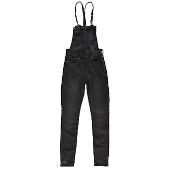 G Star Womens 3301 High Waisted Skinny Overalls