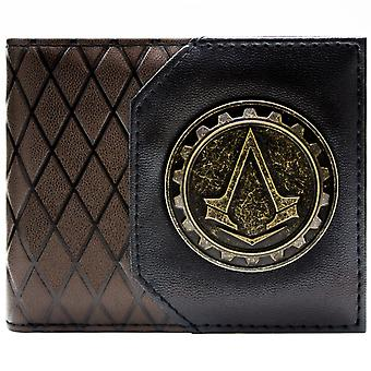 Ubisoft Assassins Creed Syndicate Cog ID & Card BiFold Wallet
