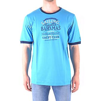 Paul & Shark Ezbc042045 Men's Light Blue Cotton T-shirt