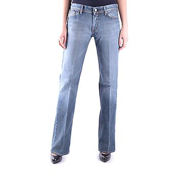 7 For All Mankind Ezbc110018 Women's Blue Cotton Jeans