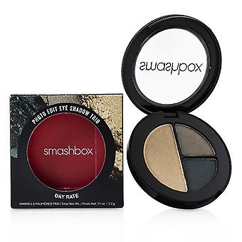 Smashbox Photo Edit Eye Shadow Trio - # Day Rate (roll Deep Dime Piece Gold Hoops) - 3.2g/0.11oz