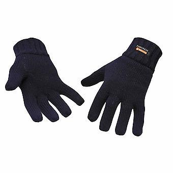 Portwest - Knit Glove Insulatex Lined Navy Regular
