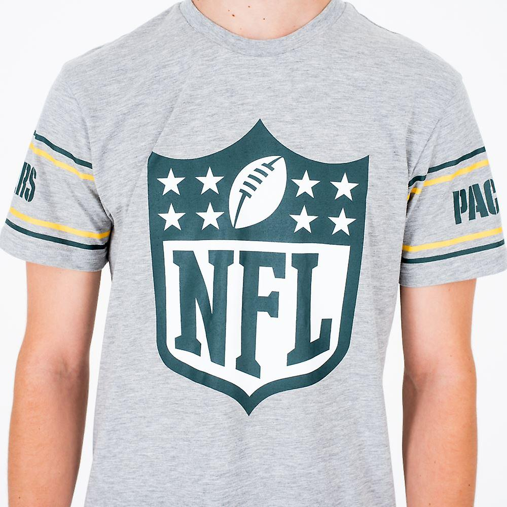 New Era NFL Badge   T-Shirt ~ Green Bay Packers
