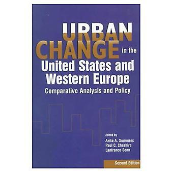 Stedelijke verandering in de Verenigde Staten en West-Europa: vergelijkende analyse en beleid (Urban Institute Press)