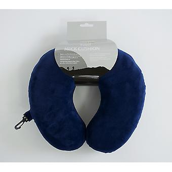 Yellowstone Memory Foam Travel Neck Cushion Travel Pillow Navy