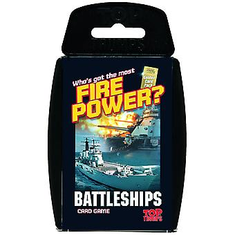 Top Trumps Battleships Card Game