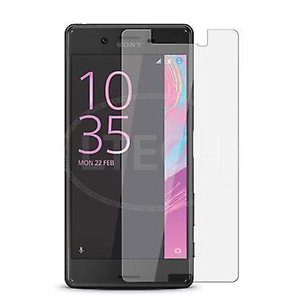 iCoverCase | Sony Xperia XA | 2-pack schermbescherming | Gehard glas
