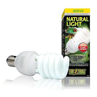 Exo Terra Natural Light Compact Lamp 25w
