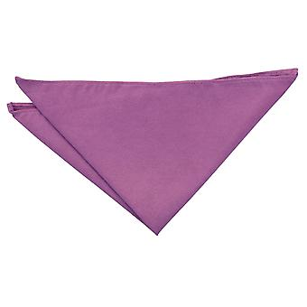 Dusty Rose Suede Pocket Square