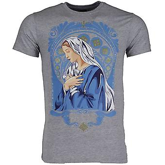 T-Shirt-Holy Mary-Grey