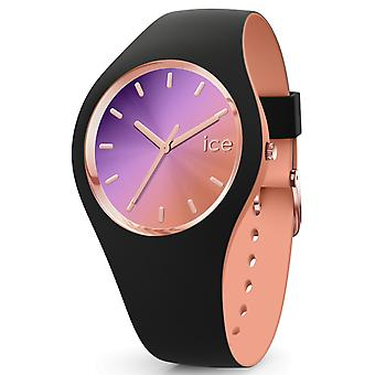 Ice duo chic Quartz Analog Woman Watch with IC016982 Rubber Bracelet