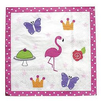 Jabadabado Flamingo Napkin Birthday (Babies and Children , Costumes)