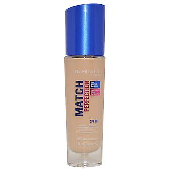 Rimmel London Match Perfection Invisible Coverage Foundation 24hr 30ml Fair Porcelain #001