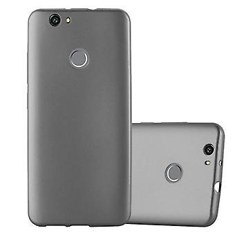 Cadorabo Hülle für Huawei NOVA Case Cover - Handyhülle aus flexiblem TPU Silikon – Silikonhülle Schutzhülle Ultra Slim Soft Back Cover Case Bumper