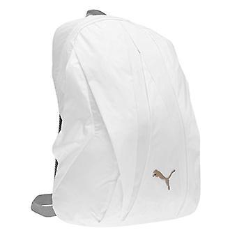 Puma 75275 01 - Unisex-Adult Backpack - White/Rock Ridge - One Size