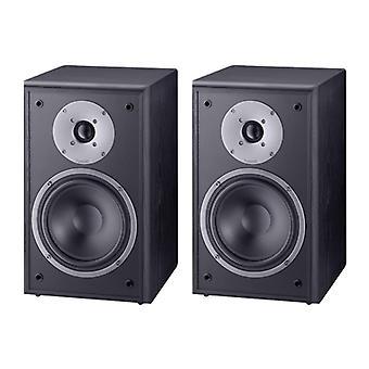 B goods, MAGNAT monitor Supreme 202, 2 way bookshelf speakers, black, 1 pair