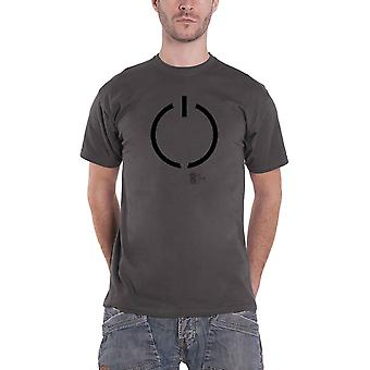 Airbag T Shirt Disconnected Band Logo new Official Mens Charcoal