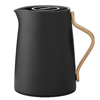 Stelton Emma insulating pot for tea 1 litre matte black