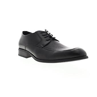 Unlisted by Kenneth Cole Voyage Lace Up Mens Black Dress Oxfords Shoes