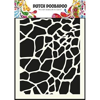 Dutch Doobadoo Giraffe A5 Stencil Mask 470.715.003