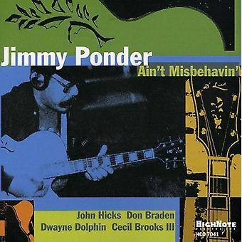 Jimmy Ponder - Ain't Misbehavin' [CD] USA import