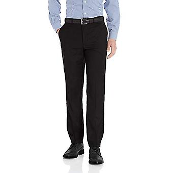 Dockers Men's Signature Slim Fit Dress Pant with Stretch, Black, 30x30