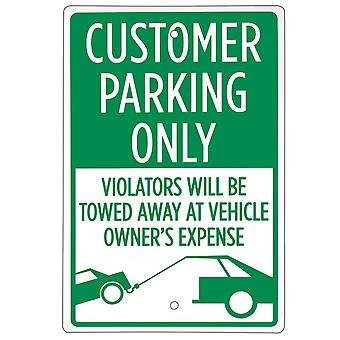 Customer Parking Only Sign 18