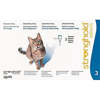 Stronghold Blue Cats 2.6-7.5kg (5.7-15.5lbs) - 3 Pack