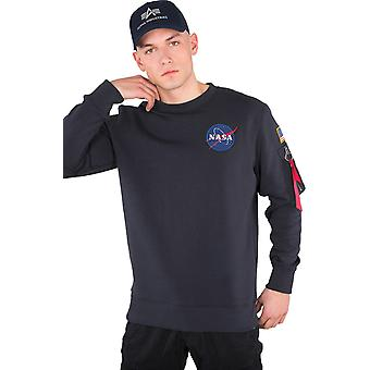 Alpha Industries Space Shuttle Sweatshirt Navy 12