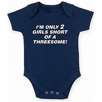 Body neonato blu navy trk0152 girls short