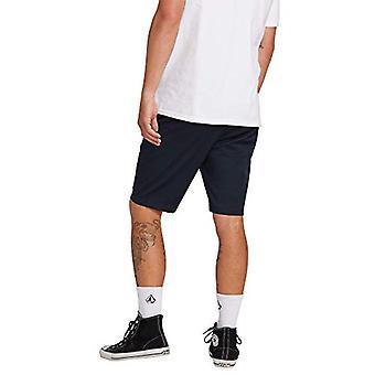 Volcom Men-apos;s Frickin Modern Stretch Chino Short, Dark Navy,, Dark Navy, Taille 28