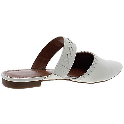 Indigo Rd. Womens Gabela 3 Faux Leather Slip On Pointed Toe Flats