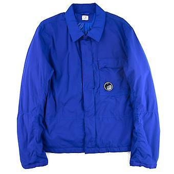 CP Company Cp Company Padded Overshirt Blue 877
