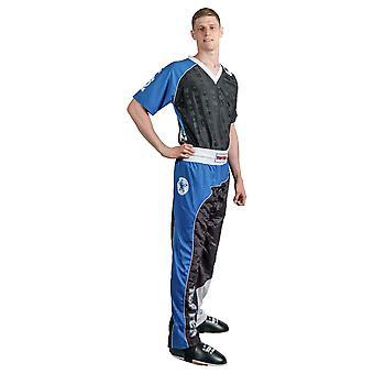 Top Ten Bow kickboxning Uniform svart/blå/vit
