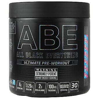 Applied Nutrition All Black Everything Pre-Workout Bubblegum Crush 315g
