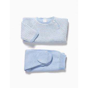 Zippy Nb Set Knit Blue