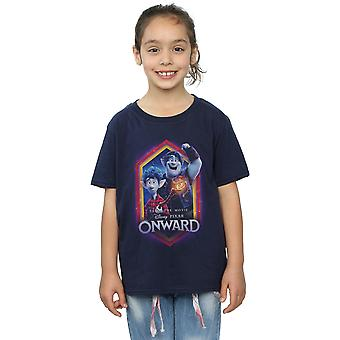 Disney Girls Onward Brothers Crest T-Shirt