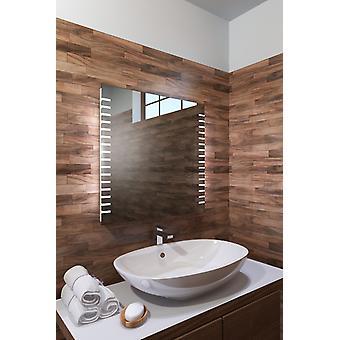Espelho do banheiro RGB Shaver com sensor, barbeador e demister k1013rgb