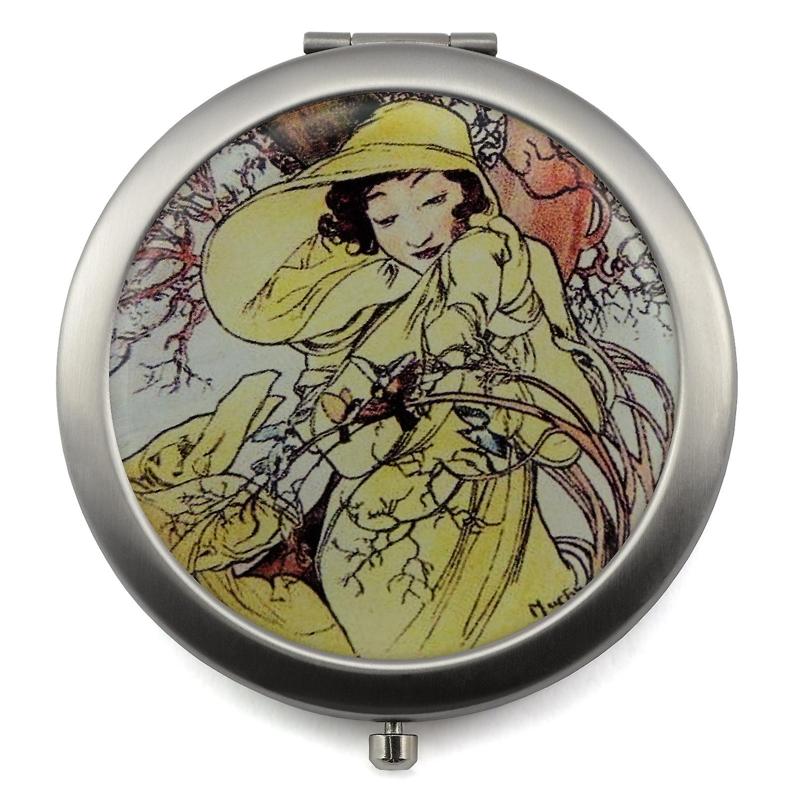 Four Seasons Compact Mirror