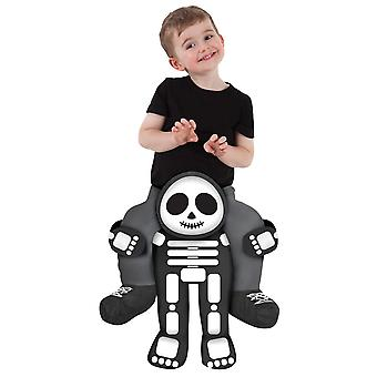 Skeleton Rider Kind Kostuum