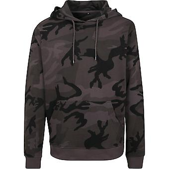 Build Your Brand Unisex Camouflage Print Hoodie