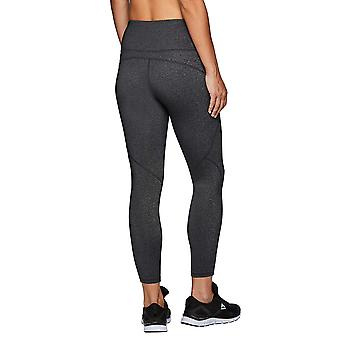 RBX Active Women's Athletic Yoga Workout, Charcoal Combo Mix, Size X-Large