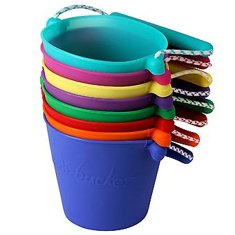 Scrunch Bucket Sand Beach Outdoor Toys Fun Creative Colourful