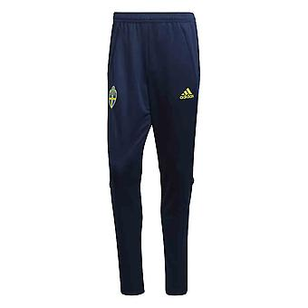 2020-2021 Sweden Adidas Training Pants (Night Indigo)