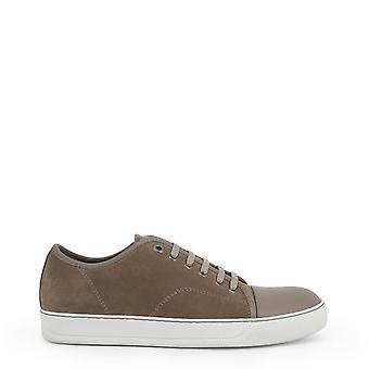 Lanvin Original Men All Year Sneakers - Brown Color 39577