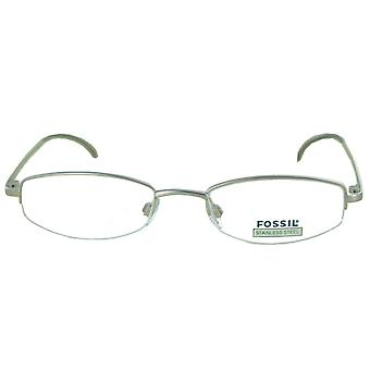 Fossil Brille Brillengestell Coco Palm silber OF1069040