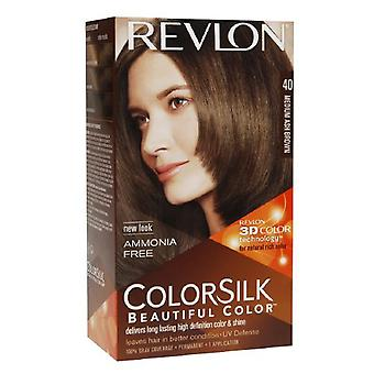 Revlon colorsilk bella di colore, medio frassino marrone 40, 1 ea
